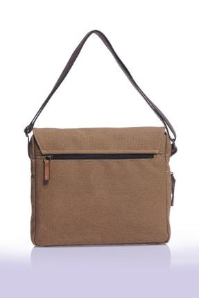 Sword Bag Bej Kanvas Unısex Laptop & Evrak Çantası Sw700 2