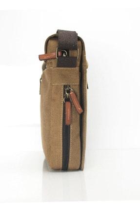 Sword Bag Bej Kanvas Unısex Laptop & Evrak Çantası Sw700 4