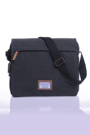 Sword Bag Siyah Kanvas Unısex Laptop &evrak Çantası Sw700 1