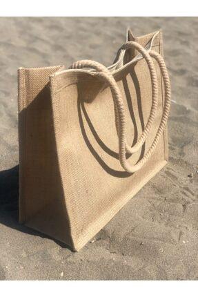 Lebina Hasır Plaj Çantası 1
