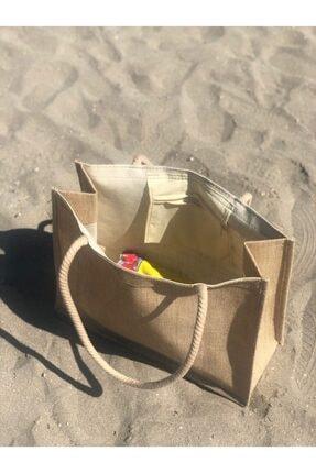 Lebina Hasır Plaj Çantası 3