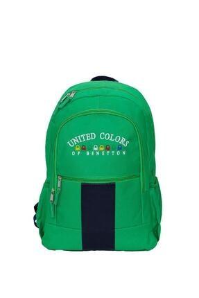 Unisex Leiastore United Colors Of Lisanslı Iki Bölmeli Sırt Çantası resmi