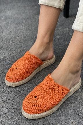 İnan Ayakkabı DANTEL DETAYLI HASIR TERLİK 2