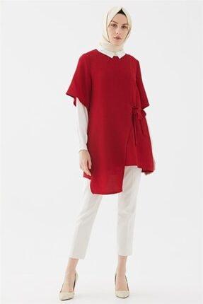 Kadın Kırmızı  Yandan Bağcıklı TakımTk-u5002-11 resmi