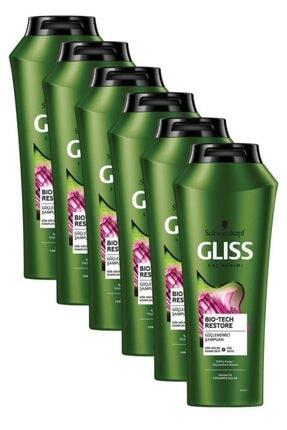 Gliss Bio-tech Güçlendirici Şampuan 500 ml 6'lı 0