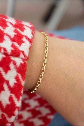 Altın Zincir Bileklik GEB0027