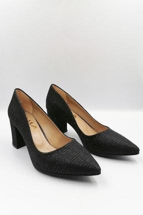 Siyah Simli Abiye Ayakkabı AYK518