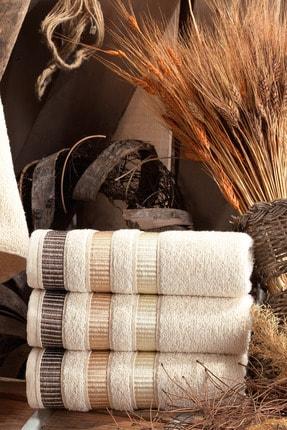 Binnur Home Natural Antibakteriyel El ve Yüz Havlusu 50x90 cm 4'lü 3
