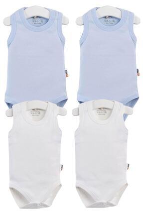 Pattaya Kids Erkek Bebek Çıtçıtlı Kolsuz Body 0-36 Ay Ptk20s-406 0