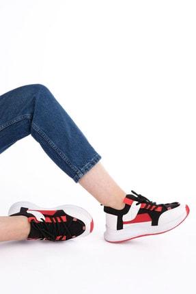 Marjin Kadın Streç Sneaker Spor Ayakkabı Felyabeyaz 3