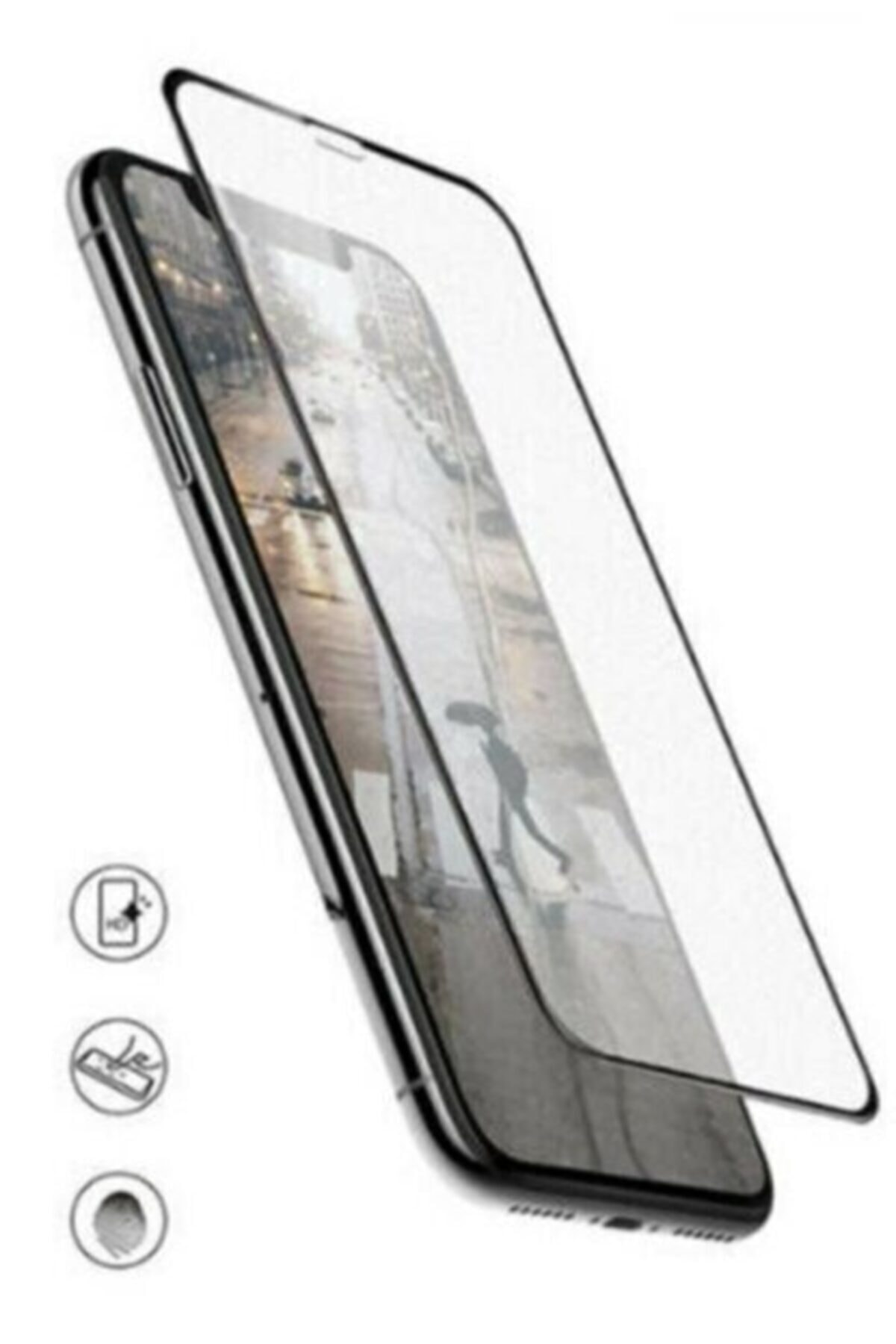 Galaxy A72 Darbe Emici Mat Seramik Ekran Koruyucu