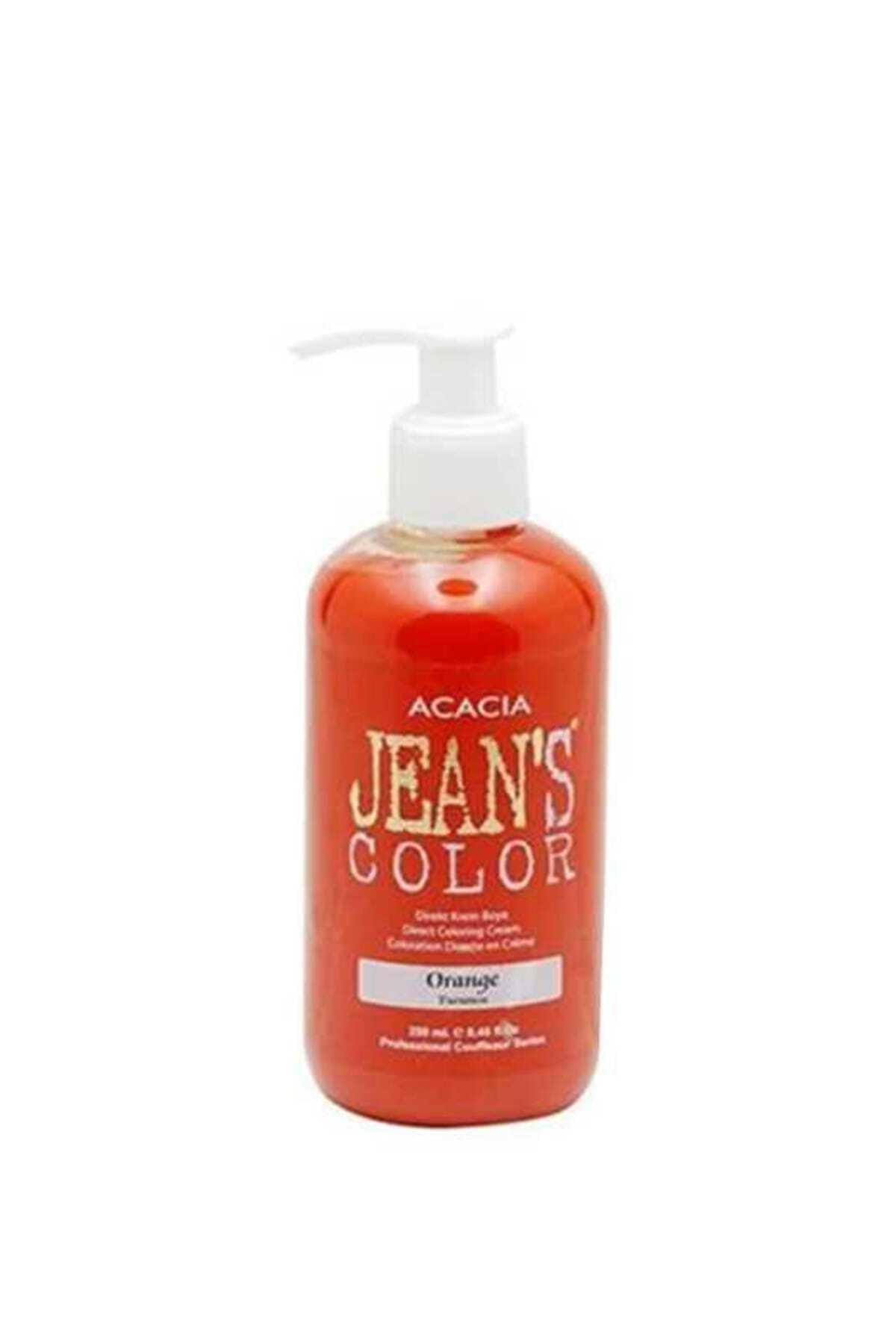 Jean's Color Turuncu  Saç Boyası - 250 ml 8680114781693