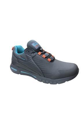 Jump Gri Erkek Spor Ayakkabı 25703 4