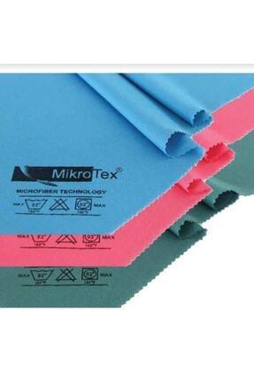 Mikrotex Mikrofiber Cam Bezi 2 Adet Çok Renkli 40 X 50 cm 0