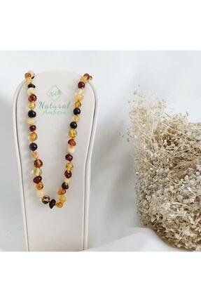 Natural Ambers Kehribar Bebek Diş Nazar Ve Sağlık Kolye 1