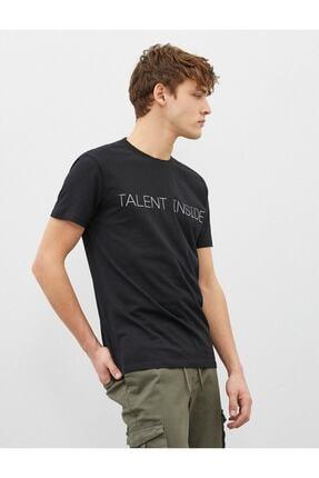 Koton Erkek T-shirt Siyah 1yam11931ck 1
