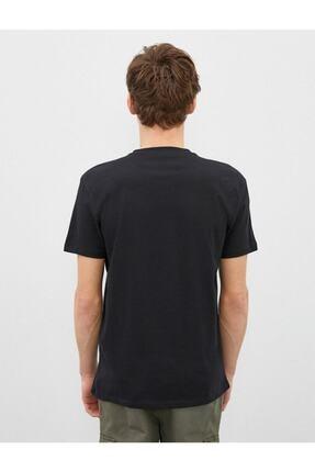 Koton Erkek T-shirt Siyah 1yam11931ck 3
