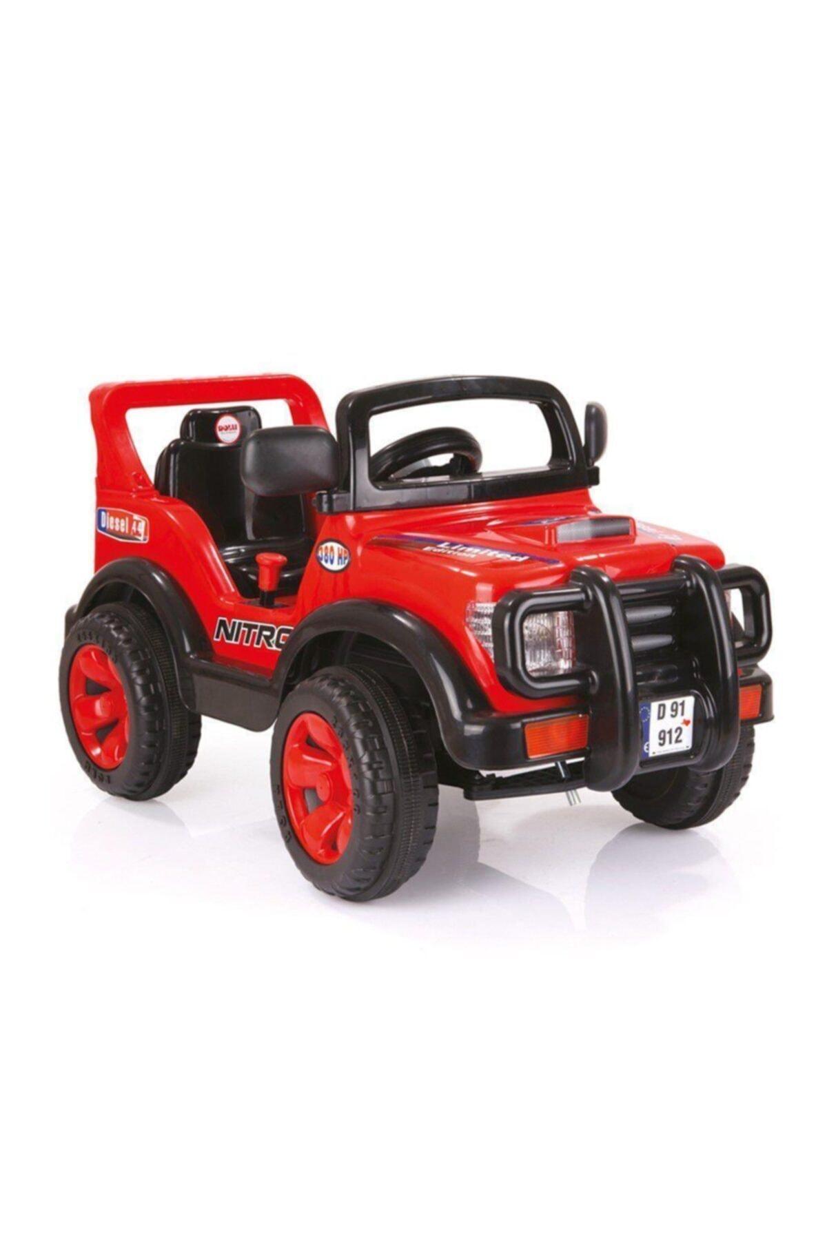 Dolu Nitro Jeep Akülü Araba 6V