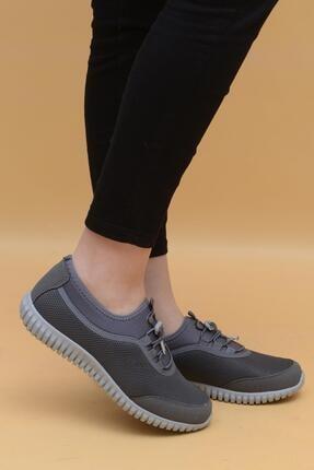 Evarmis Kadın Gri Günlük Spor Ayakkabı 1042 0