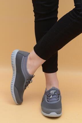 Evarmis Kadın Gri Günlük Spor Ayakkabı 1042 1