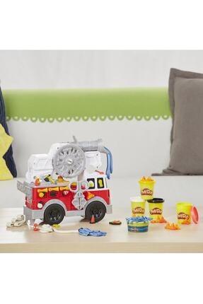 Play Doh Çalışkan İtfaiye Aracı E6103 4