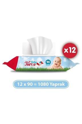 Baby Turco Islak Havlu 12x90 (1080 Yaprak) 1