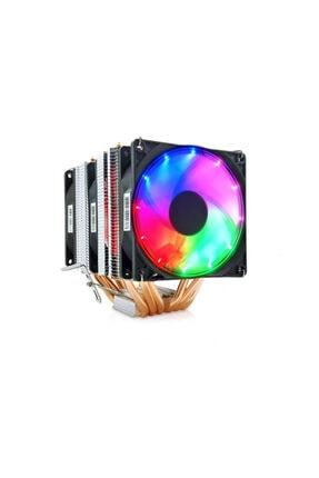Snowman X6 Cpu Soğutucu Fan Rainbow 0