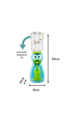 Funtik Toys Mavi Ördek Çocuk Su Sebili 1