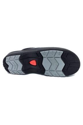 Ceyo 9926 Siyah Ortopedik Microfiber Technology Sabo Unısex Terlik 4