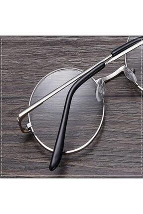 Retro Yuvarlak Gözlük Şeffaf Gözlük 2