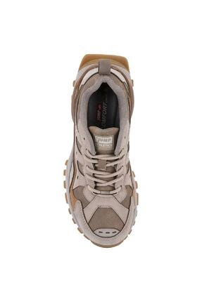 Jump Kadın Bej Sneaker Spor Ayakkabı 2