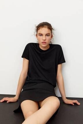 Pull & Bear 2'li Basic Pamuklu T-shirt Paketi 1