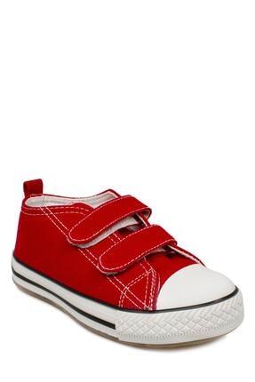 Vicco 925.p20y150 Patik Işıklı Keten Kırmızı Çocuk Spor Ayakkabı 0
