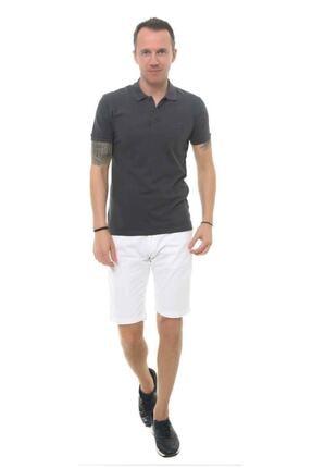 Cazador Erkek Gri Polo Yaka T-shirt 4613 1