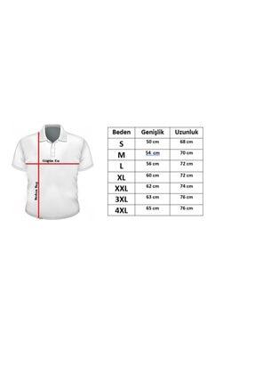 Cazador Erkek Gri Polo Yaka T-shirt 4613 3