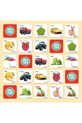 Circle Toys Circle Toys Match Up Eşleştirme Kartları Eşini Bul 140 Kart 1