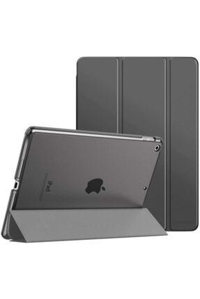 TEKNETSTORE Siyah Apple Ipad 8. Nesil 2020 10.2 inç Tablet Flip Smart Standlı Akıllı Kılıf Smart Cover 0