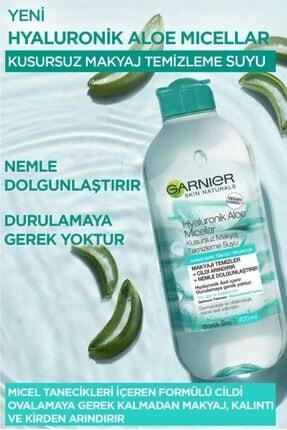 Garnier Micellar Hyaluronik Aloe Kusursuz Makyaj Temizleme Suyu 400 ml 3