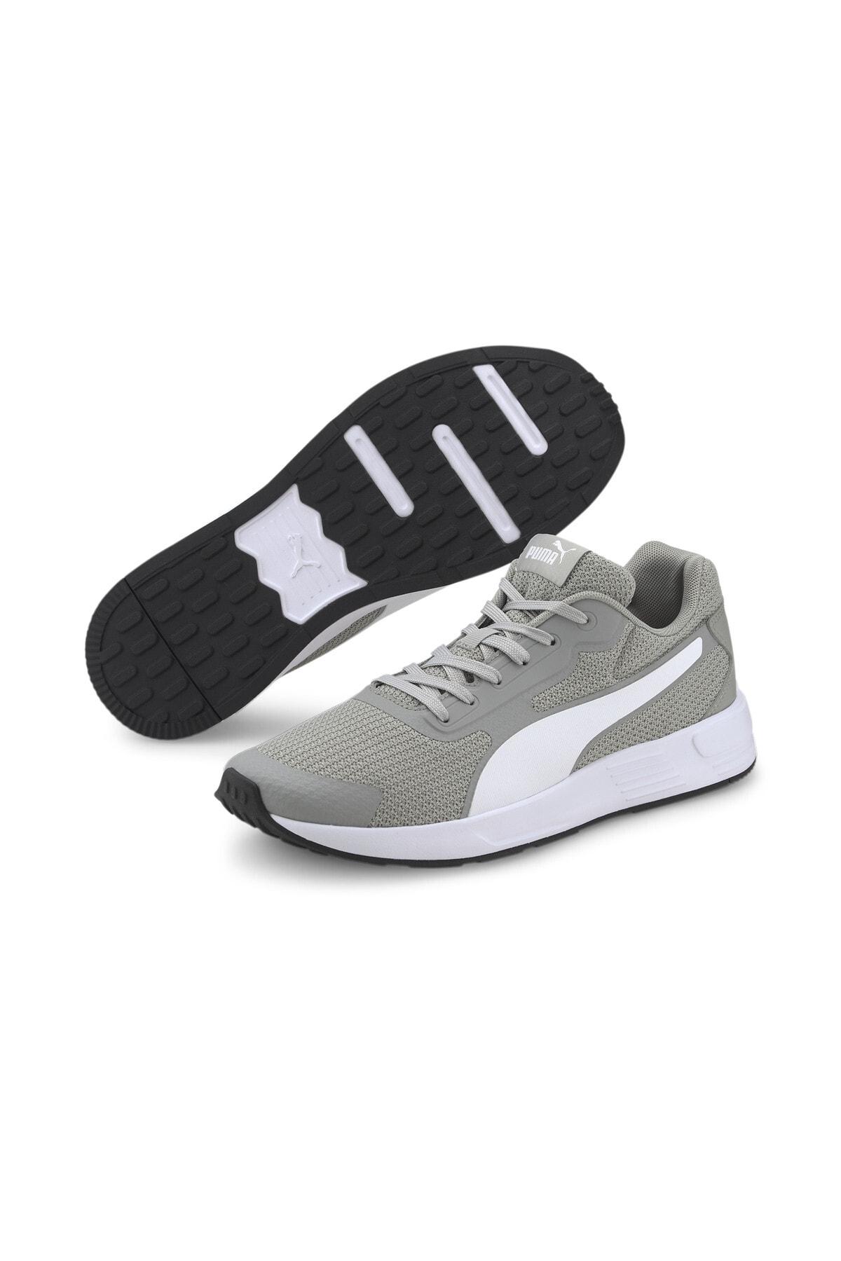 Puma TAPER Gri Erkek Koşu Ayakkabısı 100656439 1