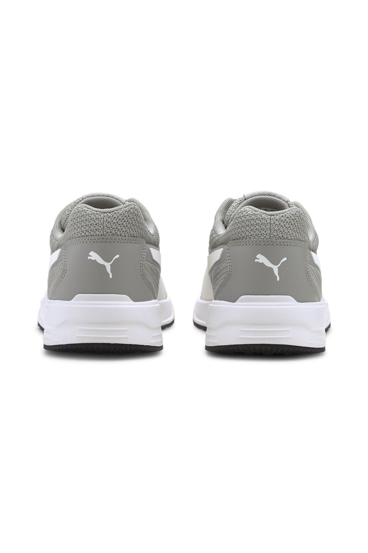 Puma TAPER Gri Erkek Koşu Ayakkabısı 100656439 2