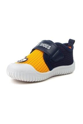 Gezer 3035 Erkek Çocuk Lacivert Yazlık Anaokulu/Kreş Ayakkabı Panduf 1
