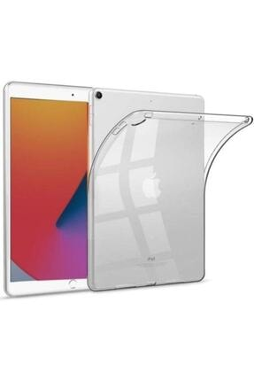 Mobilşube Ipad 8. Nesil 10.2'' Uyumlu Şeffaf Silikon Kılıf Soft Arka Kapak 0