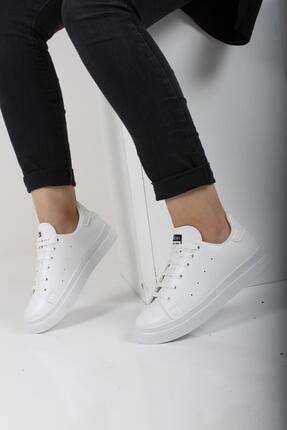 Oksit Liven Kalın Taban Kadın Spor Ayakkabı 0