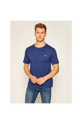 Levi's Erkek Lacivert Original Housemark T-Shirt 56605-0062 0
