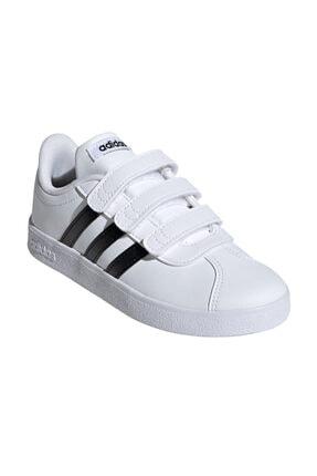 adidas Vl Court 2.0 Cmf Beyaz Unisex Çocuk Sneaker 0