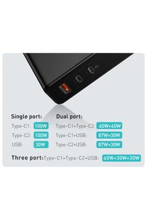 Anet Macbook Hızlı Şarj Aleti, Macbook Pro Macbook Air Sarj Aleti 120w Pd Hızlı Şarj Aleti+100w Pd Kablo 2