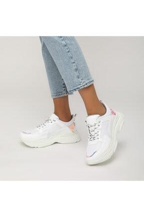 Butigo 19sf-1501-19k Beyaz Kadın Sneaker Ayakkabı 0