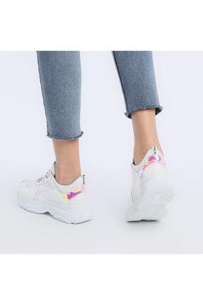 Butigo 19sf-1501-19k Beyaz Kadın Sneaker Ayakkabı 2