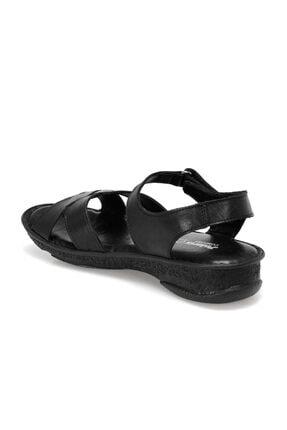 Polaris 103089.Z Siyah Kadın Sandalet 100509757 2