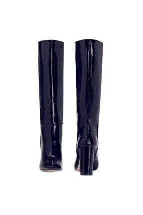 Nine West MIMA Lacivert Kadın Ökçeli Çizme 100582032 4